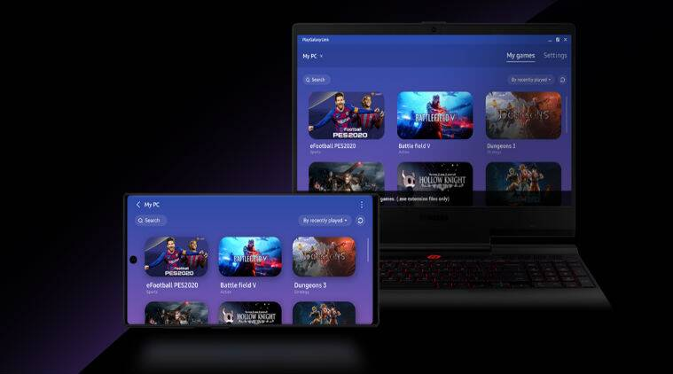 Samsung's PlayGalaxy Link app lets users stream PC games to