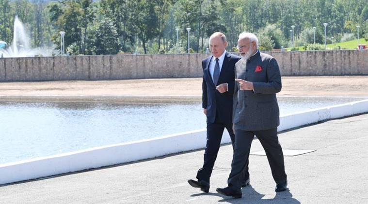 india russia, india russia relations, russia on afghanistan, india on afghanistan, pm modi in russia, modi in russia, modi in vladivostok, india news, Indian Express