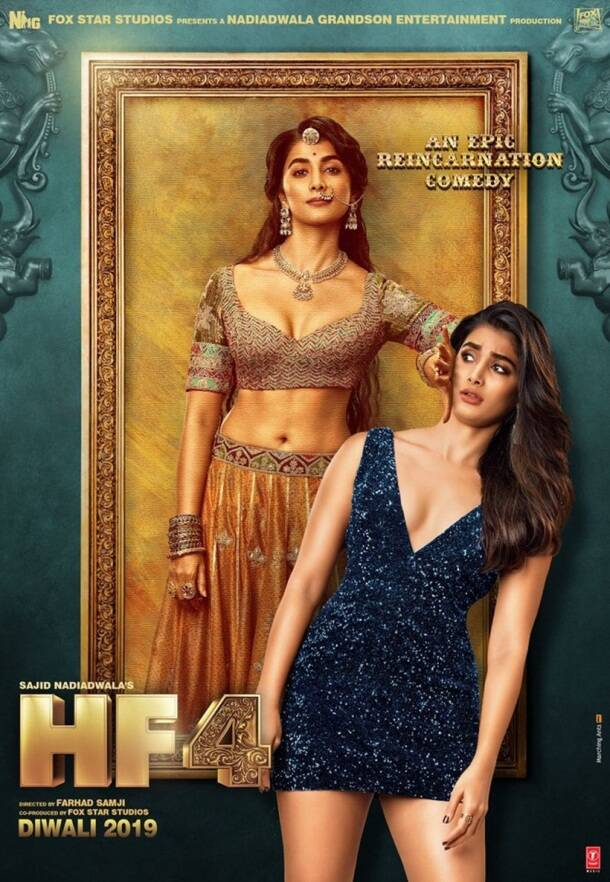 Pooja Hegde look in Housefull 4
