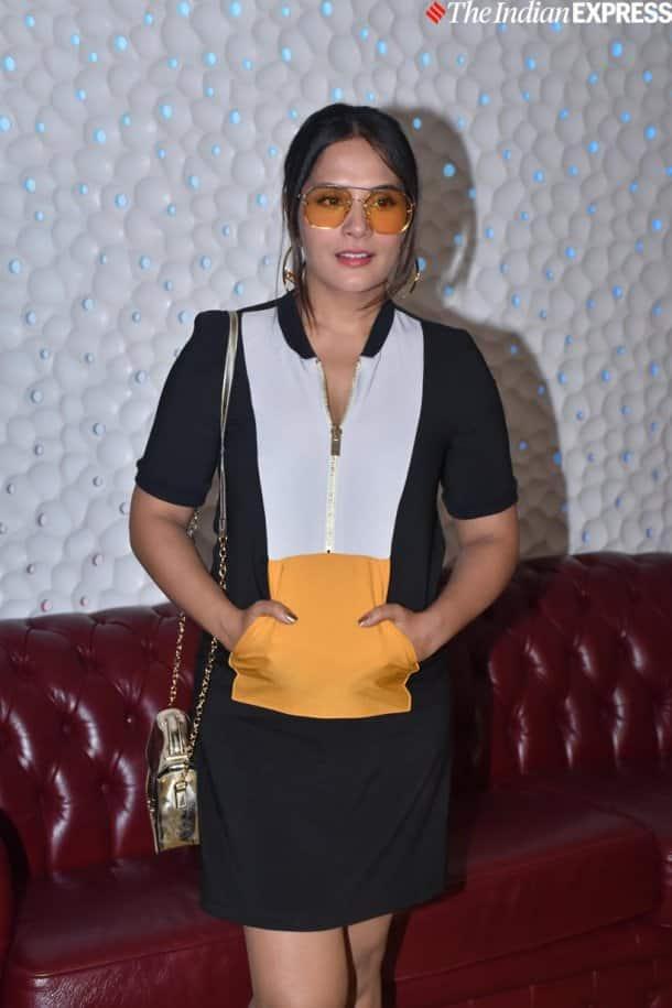 Richa Chadha at Prassthanam screening