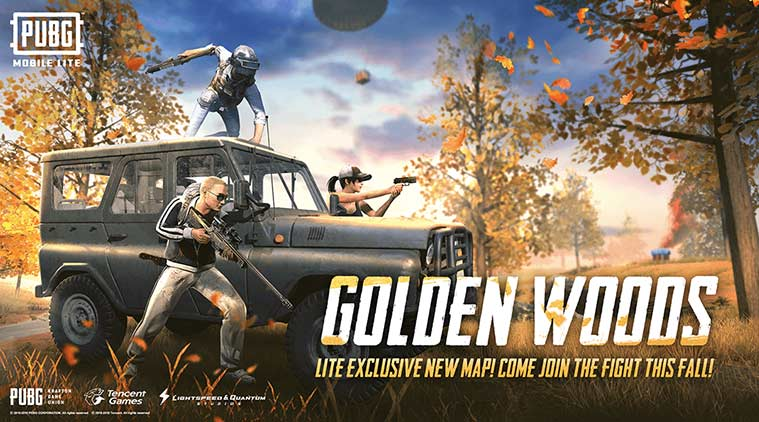 Pubg mobile lite update 0 14 1 adds new golden woods map weapons vehicle and more
