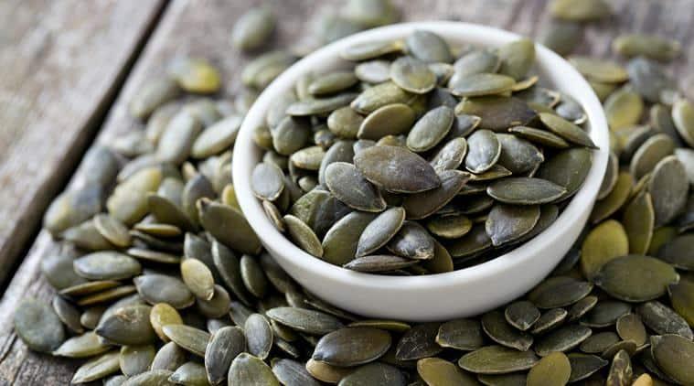 pumpkin seeds, indianexpress, indianexpress.com, diabetes, type 2 diabetes, blood sugar, chronic condition,
