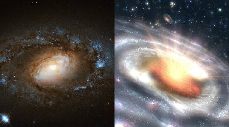 quasar galaxies, low-ionization nuclear emission line region (LINER) galaxies, six LINER galaxies turn into quasars within months, University of Maryland Department of Astronomy, A New Class of Changing-look LINERs research paper