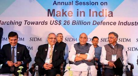 Rajnath Singh, Rajnath singh on defence, Make in India, Defence manufacturers, Society of Indian Defence Manufacturers