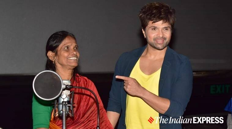 "Ranu Mandol's debut Bollywood song ""Teri Meri Kahani"" was launched in Mumbai on Wednesday"