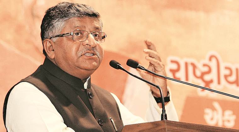 Gujarat Confidential, ravi shankar prasad, union law minister, law minister, india news, Indian express