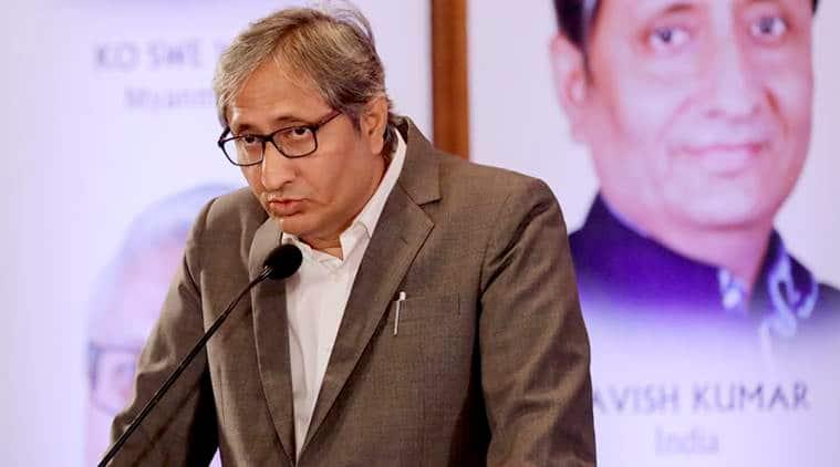 Ravish Kumar Ramon Magsaysay speech, Ravish Kumar speech, Ravoish Kumar speech video, NDTV Ravish Kumar, Indian Express