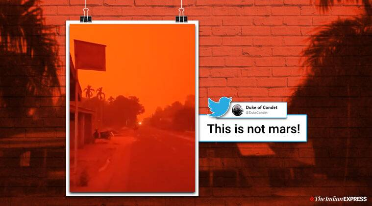 Indonesia fire, Indonesia red sky, red sky pictures, Indonesia red sky viral video, twitter reactions