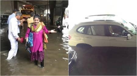 renuka shahane mumbai rains