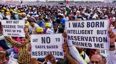 pune anti reservation rally, save merit save nation, pune reservation rally, indian express pune Save Merit, Save Nation rally, pune city news