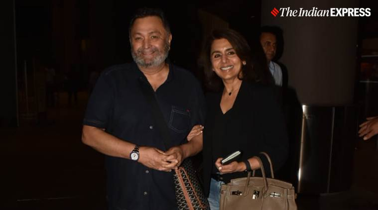Rishi Kapoor returns to India after cancer treatment in NY""
