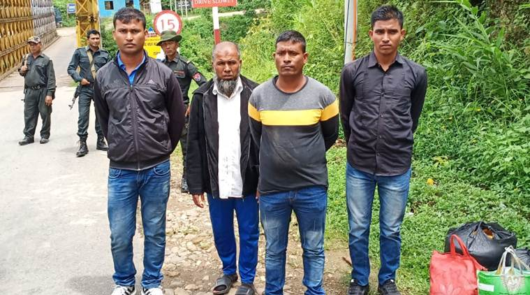 Rohingya, Rohingyas crisis, rohingya men deported, rohingya muslims deported to Myanmar, rohingya men deported to Myanmar, Rohingya deportation, Manipur news, Manipur to myanmar, indian express