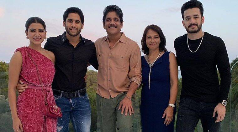 Samantha with family