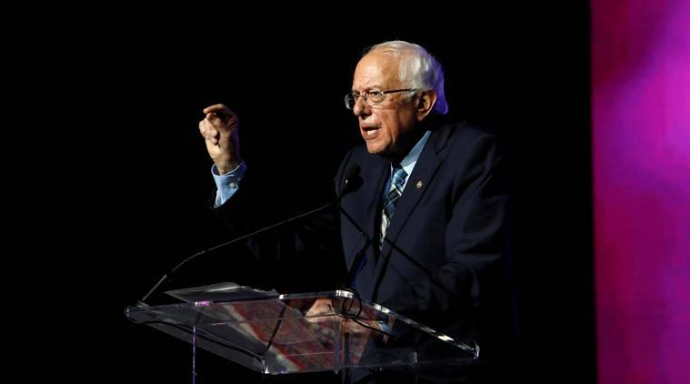 Bernie Sanders, Joe Biden, Bernie Sanders attack on Joe Biden, Joe Biden Bernie Sanders, US elections, US presidential elections, World news, Indian Express