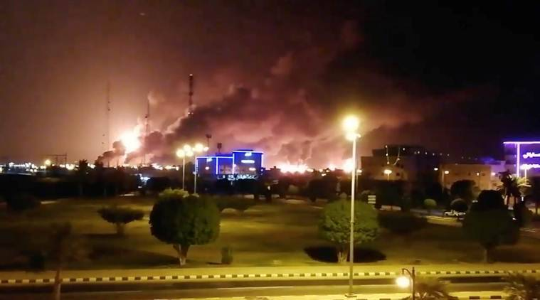 Fires from drone attacks on two Aramco sites under control, says Saudi govt spokesman
