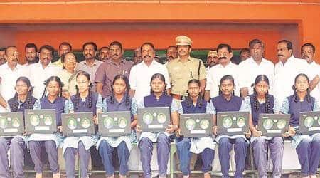 Teacher's Day 2019, Tamil Nadu schools, Tamil Nadu education, digital classrooms, smart classes, tamil nadu news, indian express