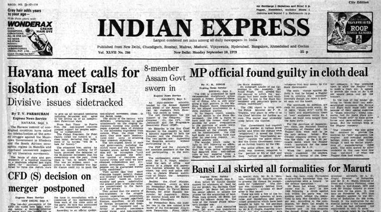 September 10, 1979, Forty Years Ago: Democracy in danger