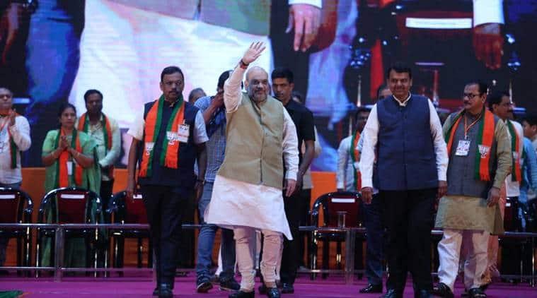 Amit shah maharashtra elections jammu kashmir article 370