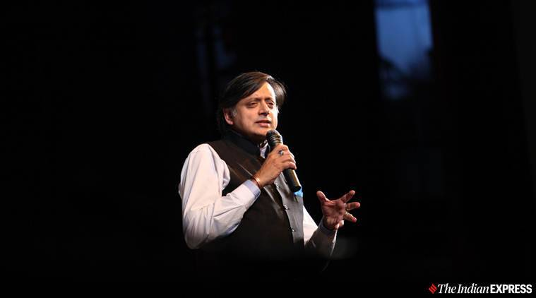 Shashi Tharoor Congress, Kashmir locks, India Pakistan Kashmir, Pok Pakistan, Kashmir Article 370 Pakistan, Shashi Tharoor on Kashmir, Indian Express news