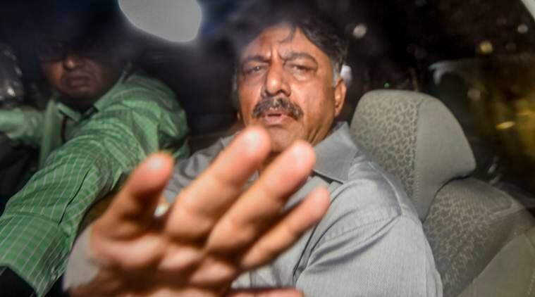 D K Shivakumar's daughter appears before ED, likely grilled about 2017 Singapore trip