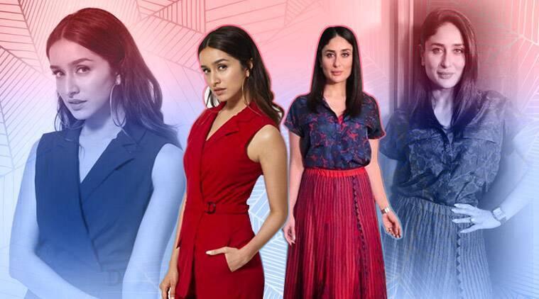 kareena kapoor, shraddha kapoor, madhuri dixit, radhika madan, sonam kapoor, red, bollywood celebrities in red, indian express, indian express news