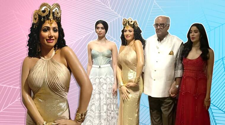 "The wax figure is modelled on Sridevi's iconic number ""Hawa Hawai"