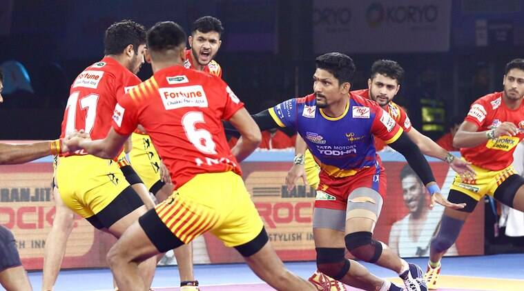 Pro Kabaddi: UP Yoddha records fourth win in a row