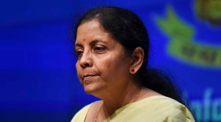 Finance Minister Nirmala Sitharaman is guest at Express Adda today