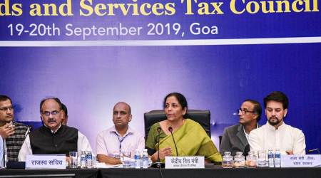 gst, gst compensation to states, gst council, nirmala sitharaman, gst states tax, opposition states on gst, indian express