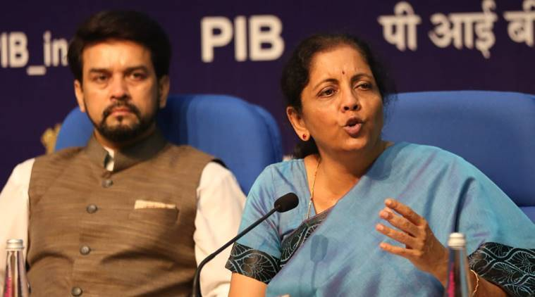 Nirmala Sitharaman press conference LIVE Updates: India to hold Dubai-like mega shopping festivals to boost exports