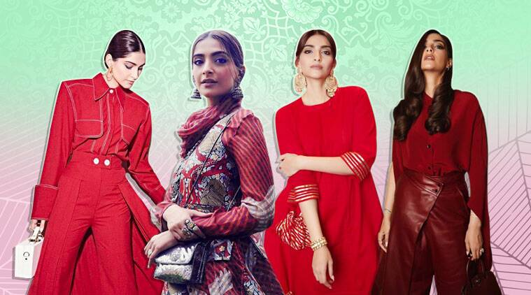 The Zoya Factor promotions: Sonam Kapoor Ahuja sticks to red and how