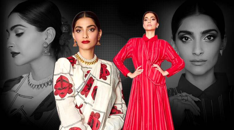 The zoya factor sonam kapoor ahuja red photos