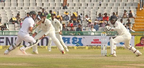 Test Match between India and South Africa
