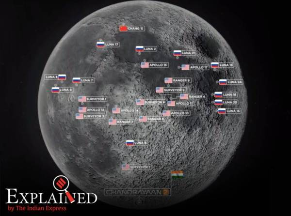 Explained: Why Chandrayaan-2 will land near the south pole of the Moon