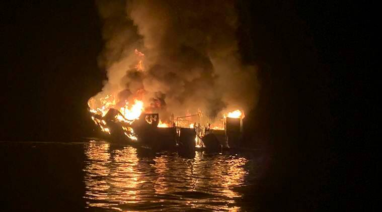 California boat fire: More bodies found off Santa Cruz Island