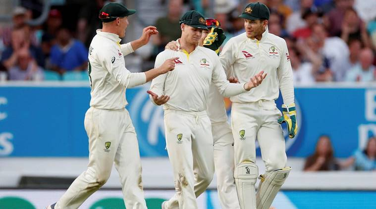 Watch: Steve Smith takes one-handed blinder in 5th Ashes Test