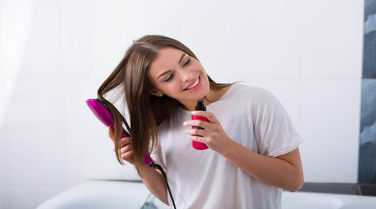 straight hair, hair straightening without heat, indian express, indian express news