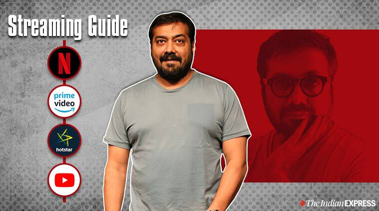 anurag kashyap movies on streaming platforms