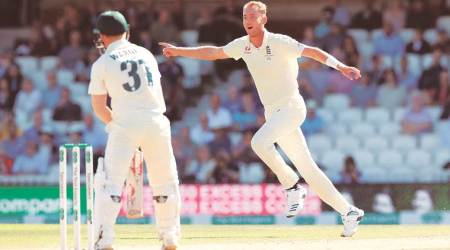 David Warner, stuart Broad, stuart Broad bowling, davind warner vs stuart Broad, ashes 2019
