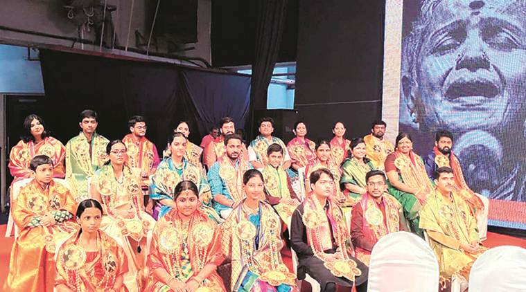 MS Subbulakshmi, MS Subbulakshmi Fellowship, MS Subbulakshmi Fellowship in Music, Indian Express