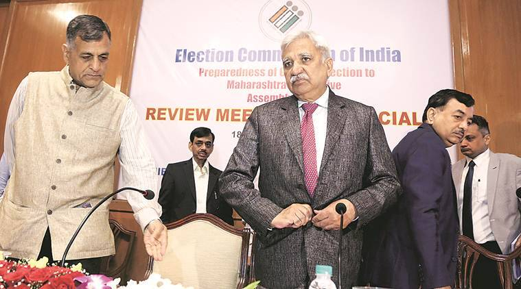 CEC Sunil Arora: 'EVM can malfunction like any other machine but can't be tampered with'