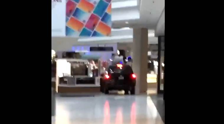 SUV crashes into Chicago-area mall, leaves shoppers panicked