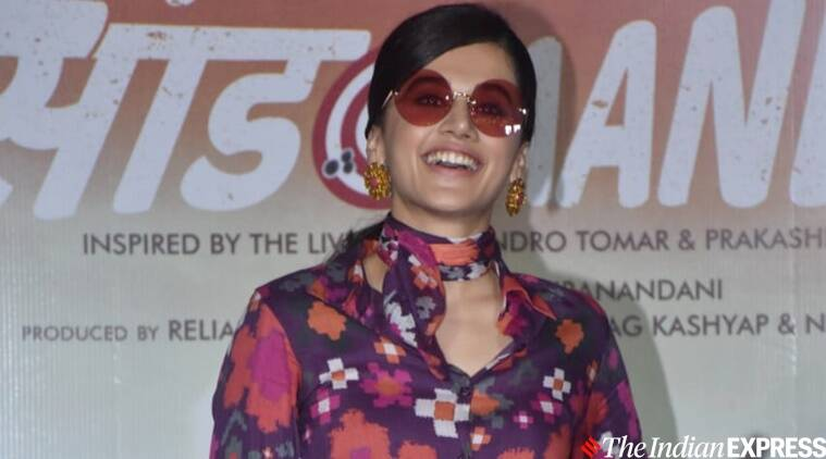 Taapsee Pannu on Saand Ki Aankh: Will be proud of showing it to my children one day
