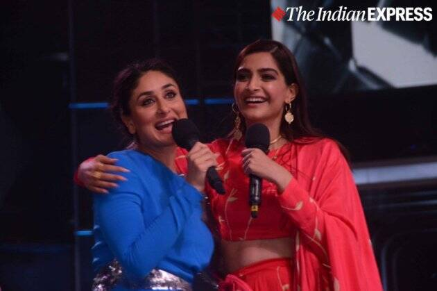 sonam kapoor, kareena kapoor, dulquer salmaan, sonam kapoor dulquer salmaan, the zoya factor, dance india dance, sonam kareena, kareena sonam, kareena kapoor new photos, kareena kapoor news, kareena kapoor latest