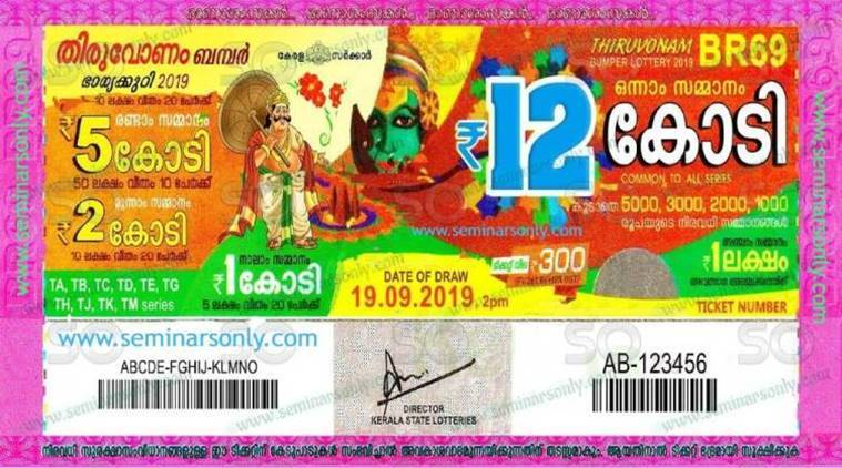 Kerala Thiruvonam Bumper Lottery BR-69 results: This is how much jackpot winner will take home