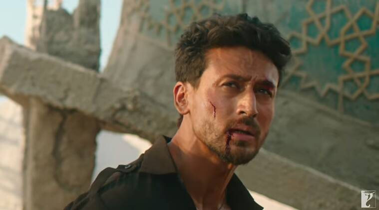 tiger shroff in war