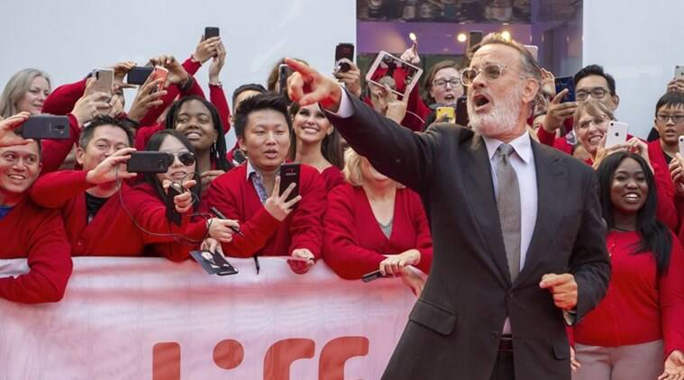 Would You Be Mine Tom Hanks Unveils His Mr Rogers At Festival Entertainment News The Indian Express