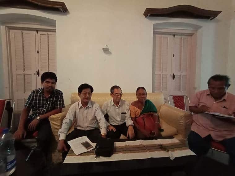 tripura congress leaders resign, tripura congress president resign, tripura prdayot kishore debbarman resigns, tripura politics, indian express news