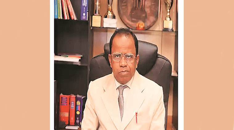tripura vc resigns, V L Dharurkar resigns, tripura vice chancellor resigns, tripura vc claims threat to life, tripura vc sting video, indian express