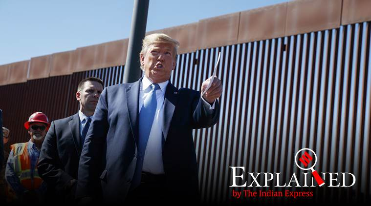 Donald Trump, US President Donald Trump, US President, US-Ukraine relations, Trump to Ukraine President, Joe Biden, US Presidential elections 2020, 2020 US elections, Express Explained, Indian Express